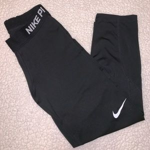 NIKE PRO LEGGINGS CROPPED